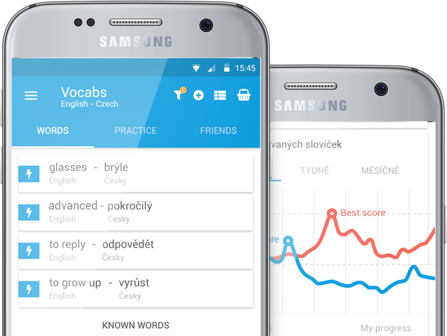 VOCABS mobile app